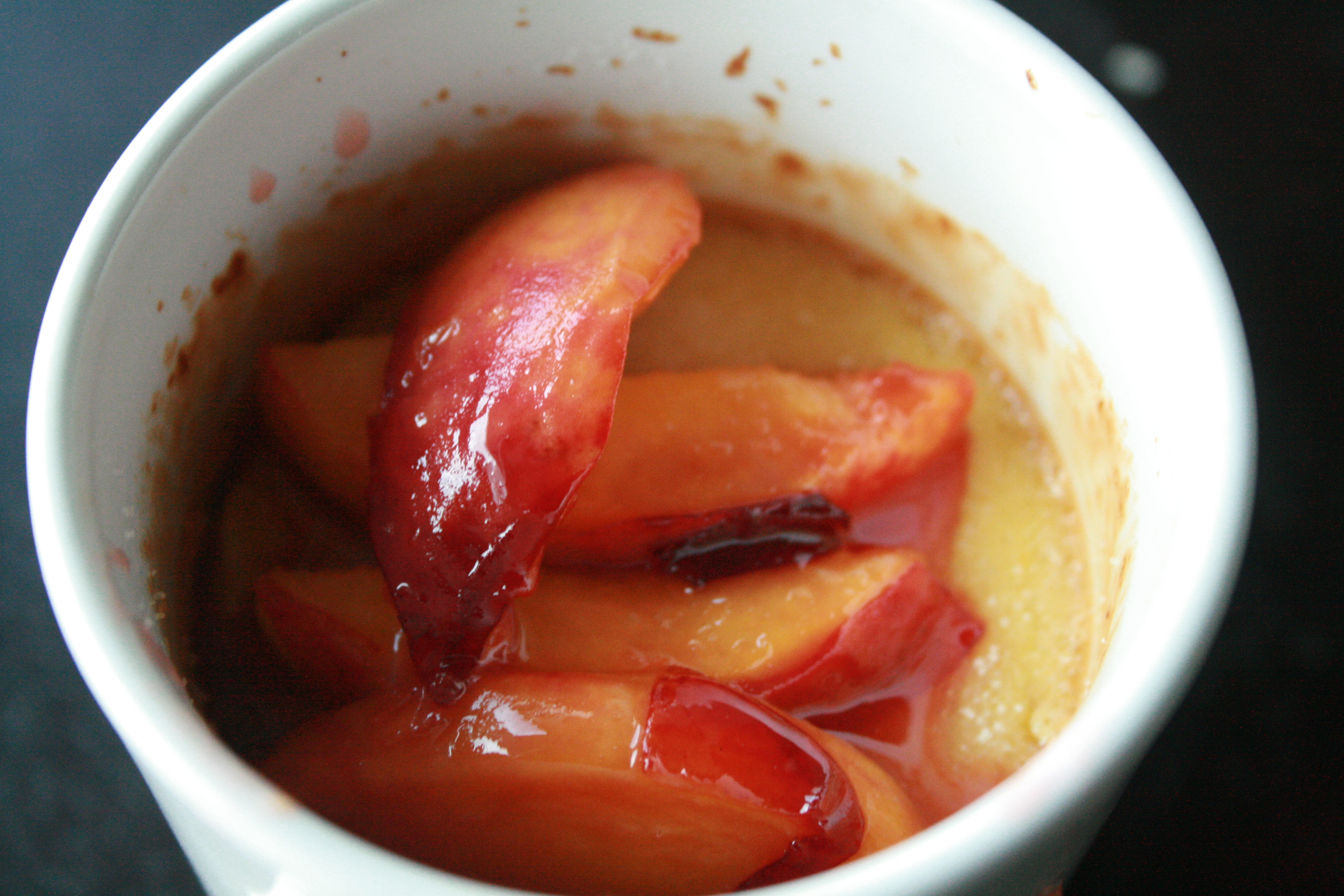 Peaches n Creme..Brulee. Catchy title no? | The New (Cooking ...