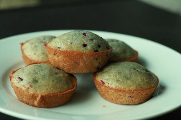 Lemon-Blackberry Muffins