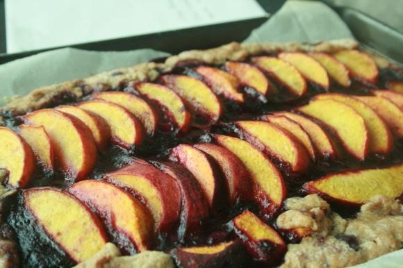 Peach Blueberry Tart